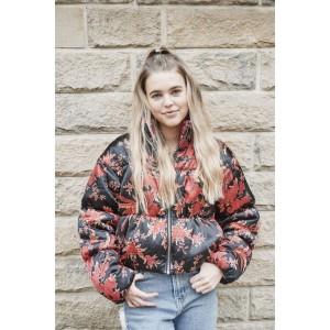 Ackley Bridge Season 4 Marina Perry Puffer Jacket