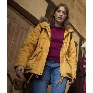 Alison Ghosts Fur Hooded Jacket