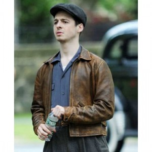 Alvin Levin The Plot Against America Leather Jacket