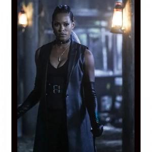 Black Lightning S02 Giselle Cutter Coat