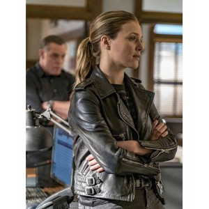 Chicago P.D. S04 Hailey Upton Leather Jacket