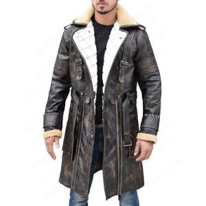 Elder Maxson Fallout 4 Battle Mens Trench Coat Jacket