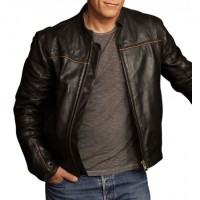 Human Target Christopher Chance Black Jacket