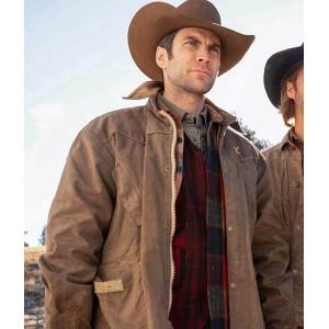 Jamie Dutton Yellowstone Leather Jacket
