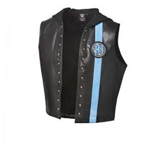 WWE AJ Styles Blue Vest