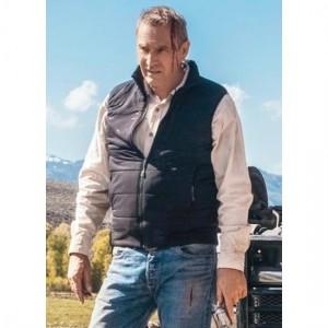 Yellowstone Kevin Costner Black Vest