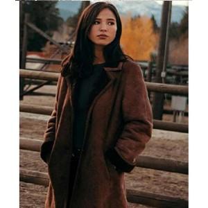 Yellowstone Monica Dutton Shearling Coat