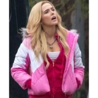 Zombieland Double Tap Zoey Deutch Pink Jacket