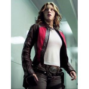 Blade Trinity Jessica Biel (Abigail Whistler) Motorbike Jacket