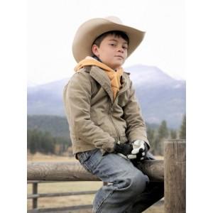 Brecken Merrill Yellowstone Tate Dutton Brown  Jackets