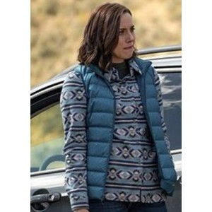 Wendy Moniz-Grillo Yellowstone Governor Perry Puffy Vest