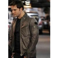 Blake The Good Wife Scott Porter Black Leather Jacket