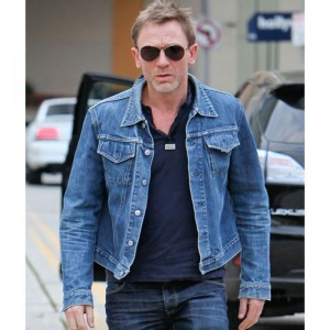 Daniel Craig Denim Blue Jacket