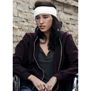 Kelsey Asbille Yellowstone Monica Dutton Fabric Hoodie Jacket