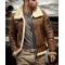 Men Shearling Sheepskin Leather Jacket
